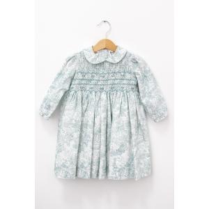 Rochie cu imprimeu și detaliu pe piept din elastic tip fagure