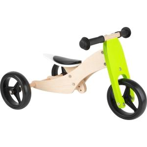 Tricicletă verde 2 în 1
