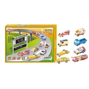 Puzzle 3D mașini