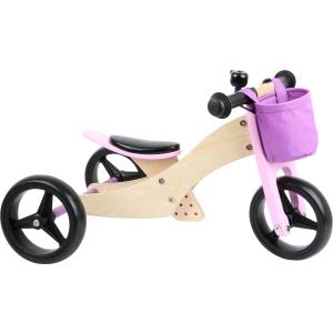Tricicletă/Bicicletă de echilibru 2 în 1