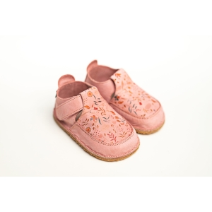 Pantofi de tip barefoot cu imprimeu floral